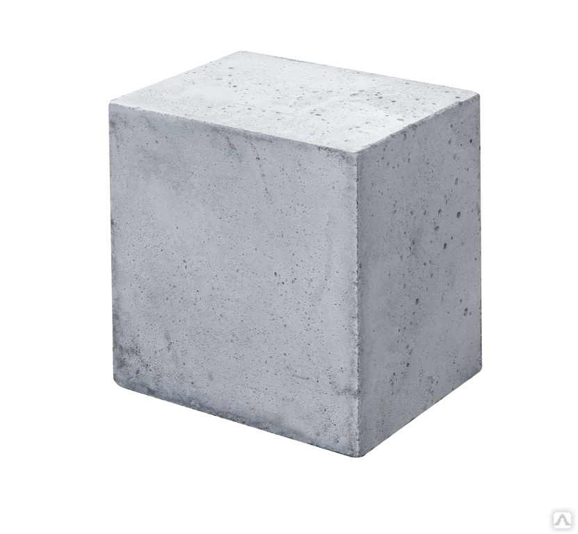 размер цемент блока