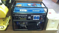 Бензиновый генератор 5,2 кВт TSS SGG 6500EH (колеса, ручки)